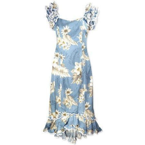 sky hawaiian meaaloha dress | long dress hawaiian