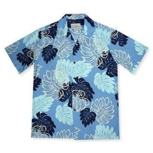 surfers blue hawaiian rayon shirt | hawaiian men shirt
