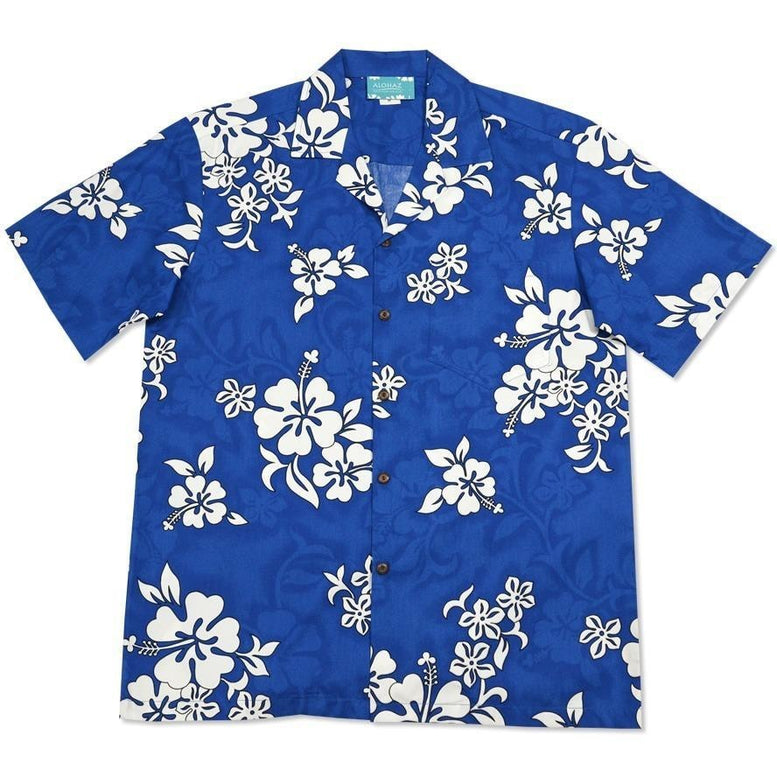 waves hawaiian cotton shirt | hawaiian shirt men