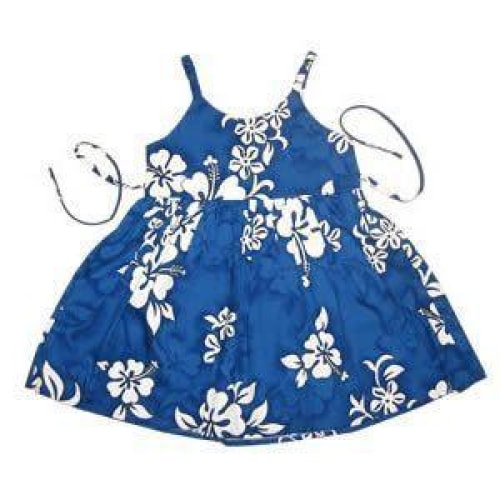 waves hawaiian girl sundress | hawaiian girl dress
