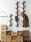 Bamboo Wall Mounted Coat Hanger