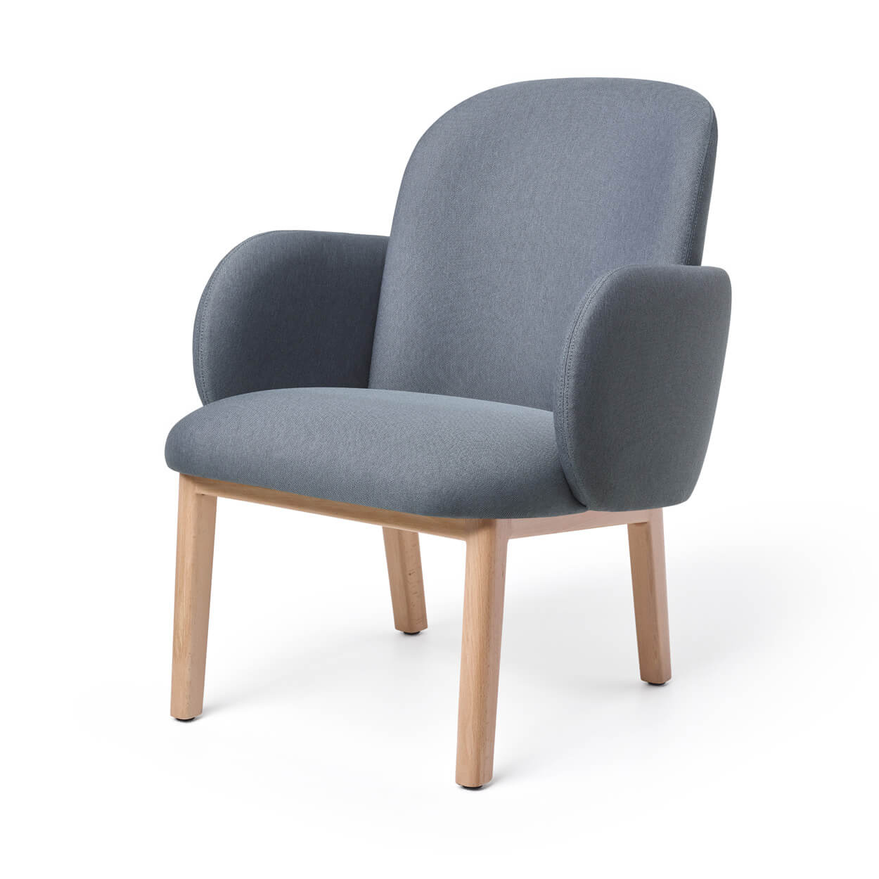 Dost Lounge Chair Wood