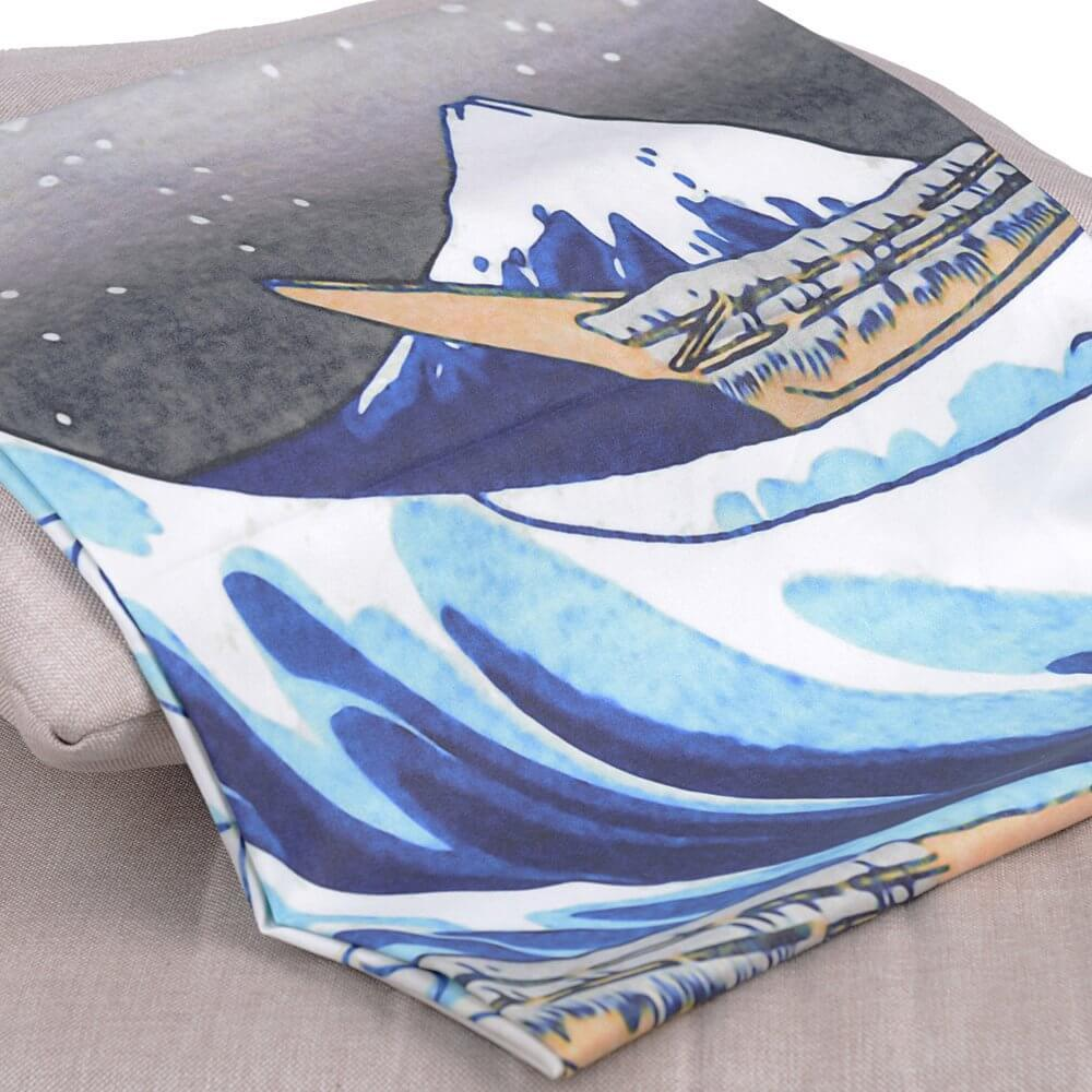"""Great Wave"" of Kanagawa Tapestry"