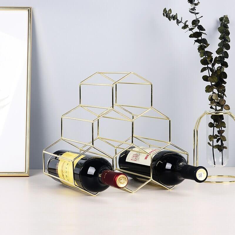 Honeycomb Wine Storage Rack