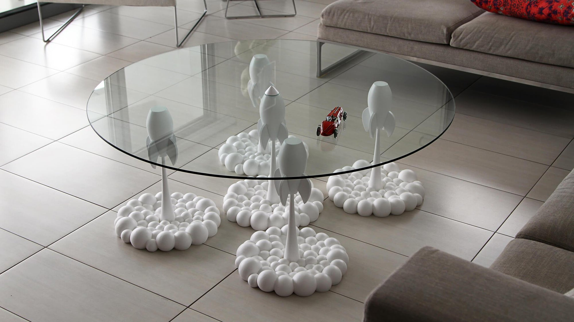 White Rocket Coffee Table