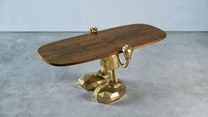Willy Oak Coffee Table