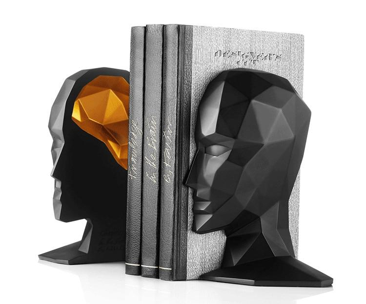 Human Head Bookends