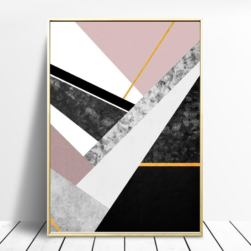 Abstract Style Marble Pattern Wall Art