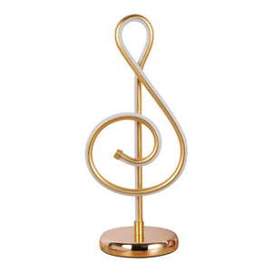 Treble Clef Desk Lamp