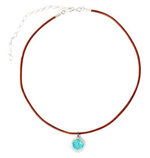 Choker Corded St. Christopher