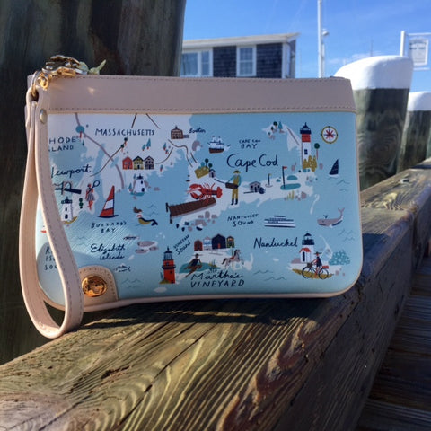Wristlet Spartina Northeastern Harbors
