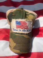 Hat Born in the USA trucker hat