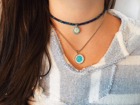 Choker Sea Sparkle St. Christopher