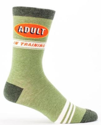 Socks adult in training crew men