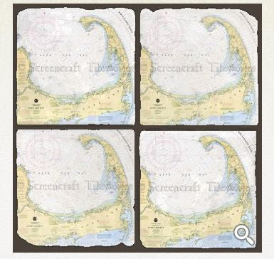 Screencraft Tileworks Cape Cod Coasters