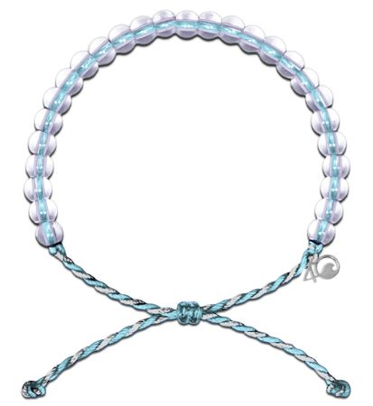 Copy of Bracelet Dolphin 4Ocean Gray/ Aqua