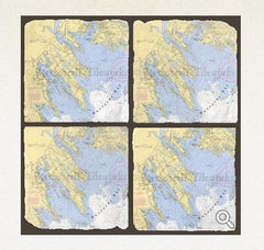 Screencraft Tile Works Marion Coasters