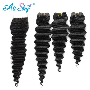 Sky Hair Deep Wave Peruvian Hair