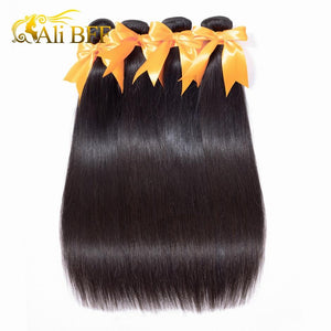 Straight Hair Extensions 100% Human Hair Bundles