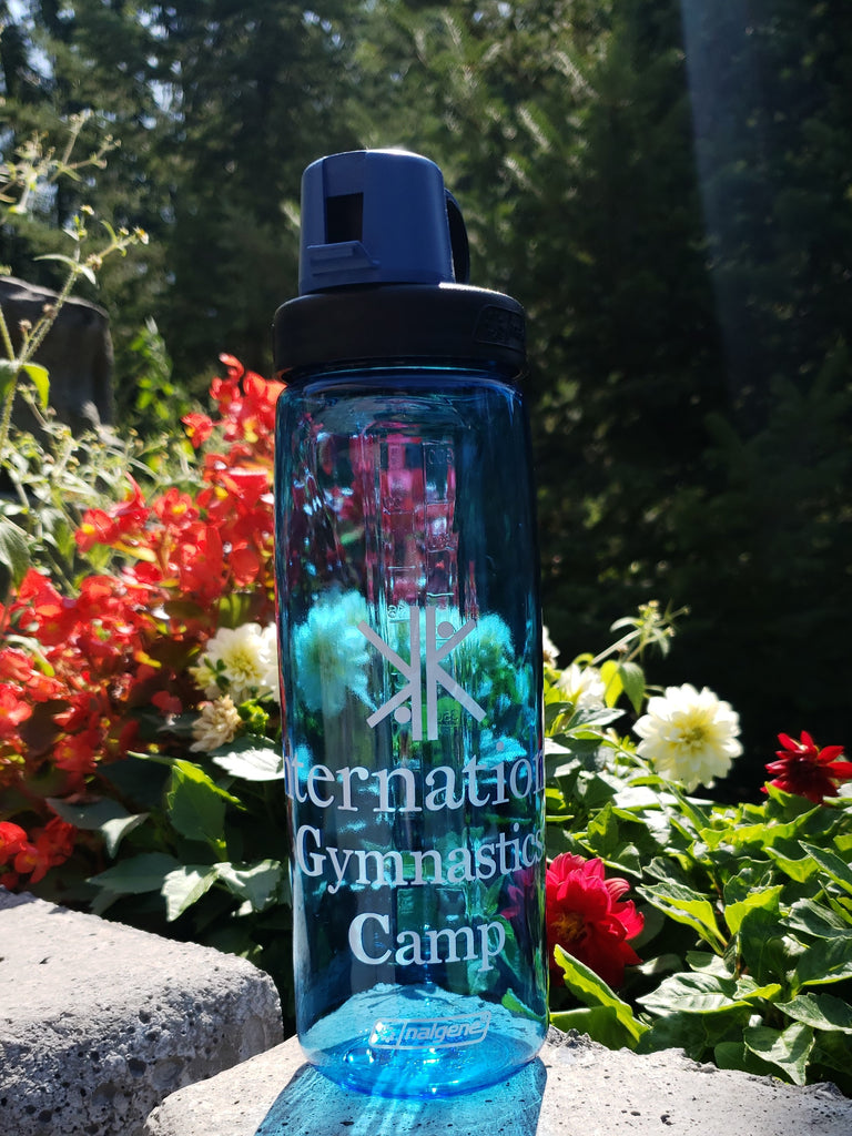 Blue IGC Water Bottle