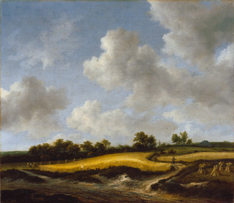 Landscape with a Wheatfield