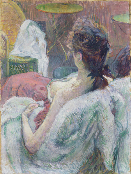 The Model Resting by Henri de Toulouse-Lautrec