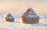 Wheatstacks, Claude Monet