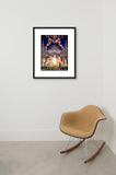 Ibero-American Exposition and World's Fair of 1929 framed poster in room
