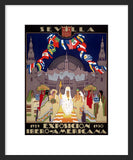 Ibero-American Exposition and World's Fair of 1929 framed poster