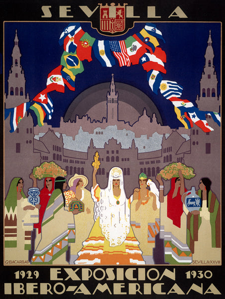 Ibero-American Exposition and World's Fair of 1929 poster