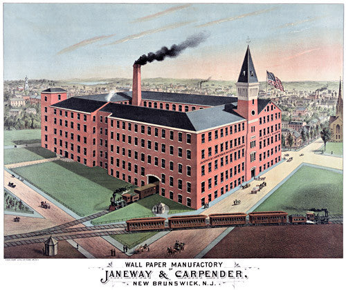 Wall Paper Manufactory of Janeway & Carpender
