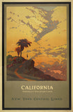 California: America's Vacation Land - Vintage Travel Poster