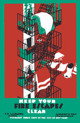 Keep Your Fire Escapes Clear poster