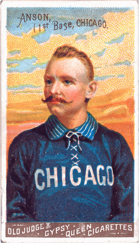 Cap Anson: Chicago White Stockings