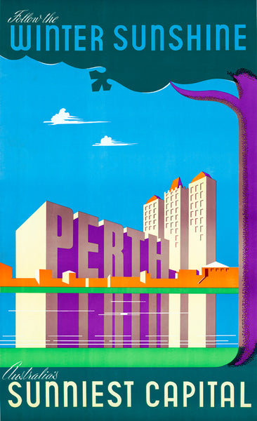 Perth, Australia's Sunniest Capital poster