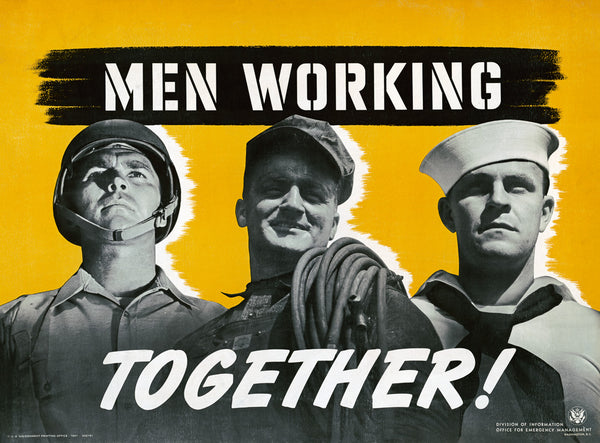 Men Working Together poster