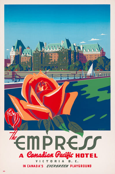 The Empress Hotel Poster