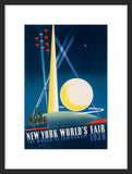 39 New York World's Fair, The World of Tomorrow framed poster