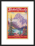 British Columbia Vacation-Land framed poster