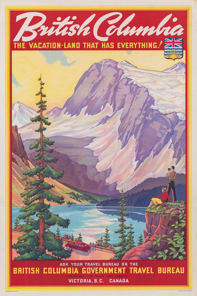 British Columbia Vacation-Land poster