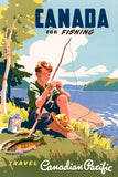 Canada for Fishing poster
