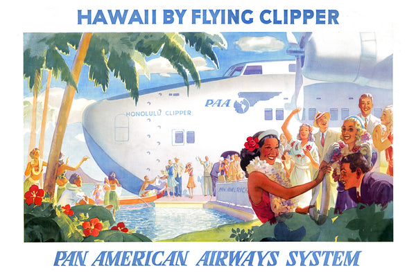 Hawaii by Flying Clipper