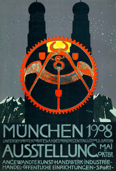 Munich 1908 Exhibition