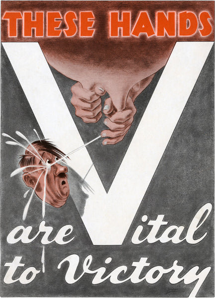 These Hands Are Vital to Victory poster
