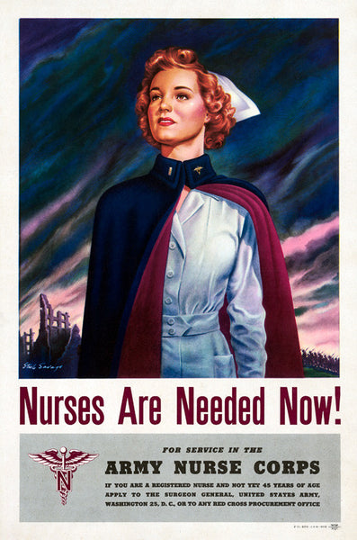 Nurses Are Needed Now!