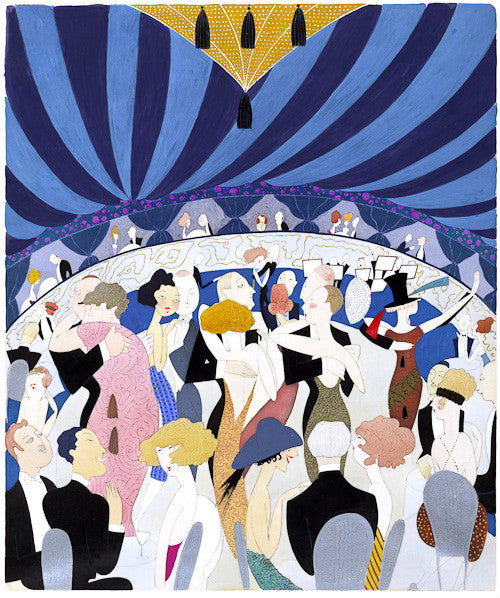 1920s Jazz Age Nightclub Dancing