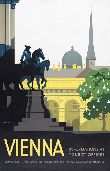 Vienna travel poster