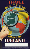 First See Ireland travel poster