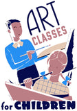 Children Painting: Art Classes for Children