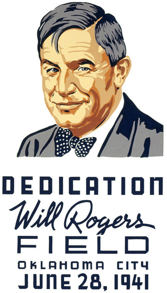 Will Rogers Field Dedication